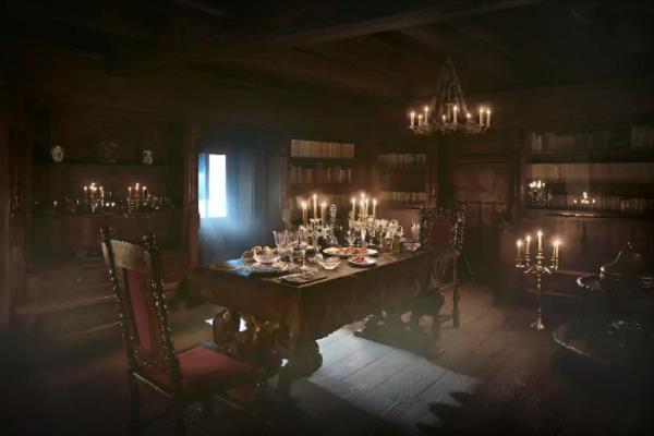 castello di Bran cena