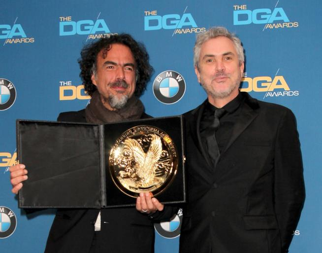 Alfonso Cuarón e Alejandro Iñárritu a un premio
