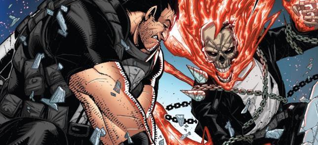 Assisteremo mai allo sconto tra The Punisher e Ghost Rider anche in TV?