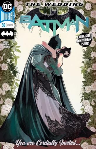 Copertina di Batman #50 originale americana