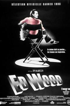 La locandina francese di Ed Wood