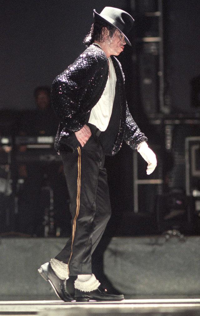 Michael Jackson e il moonwalk