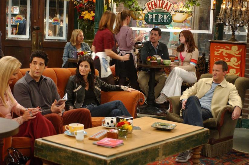 Il bar Central Perk di Friends