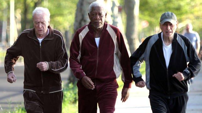 Morgan Freeman in una scena di Insospettabili sospetti