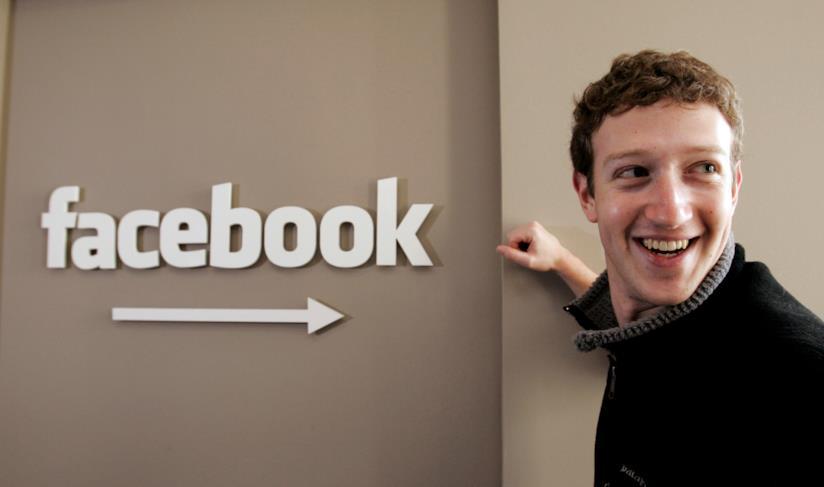 Foto di Mark Zuckerberg, CEO di Facebook