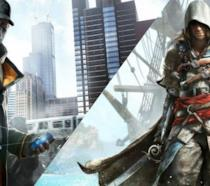 I protagonisti di Watch Dogs e Assassin's Creed IV