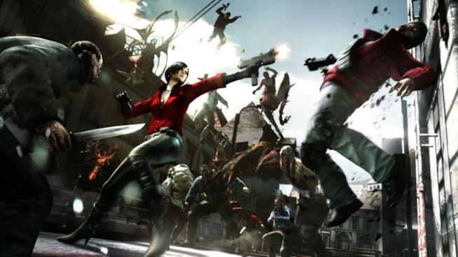 Ada Wong in azione in Resident Evil 6