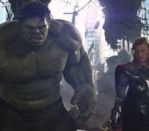Thor: Ragnarok, Thor e Hulk