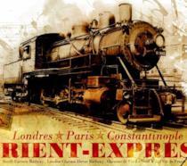 Un autentico manifesto pubblicitario dell'originale Orient Express