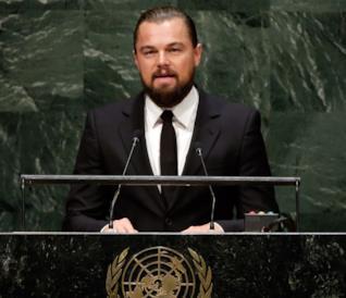 Impegnato da tempo nella difesa del clima, Leonardo DiCaprio reagisce alla scelta di Trump