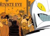 Cover del fumetto The Private Eye