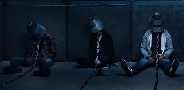Una scena dal film Saw: Legacy