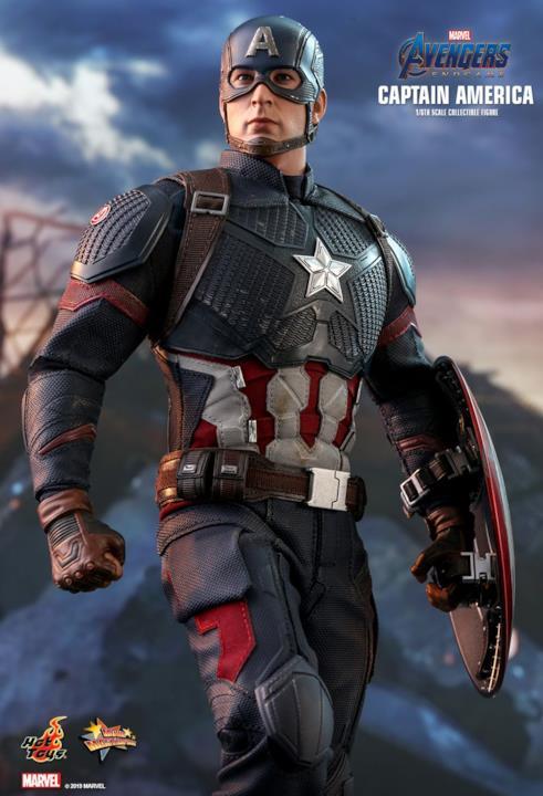 Hot Toys dedica una figure di Avengers: Endgame a Capitan America