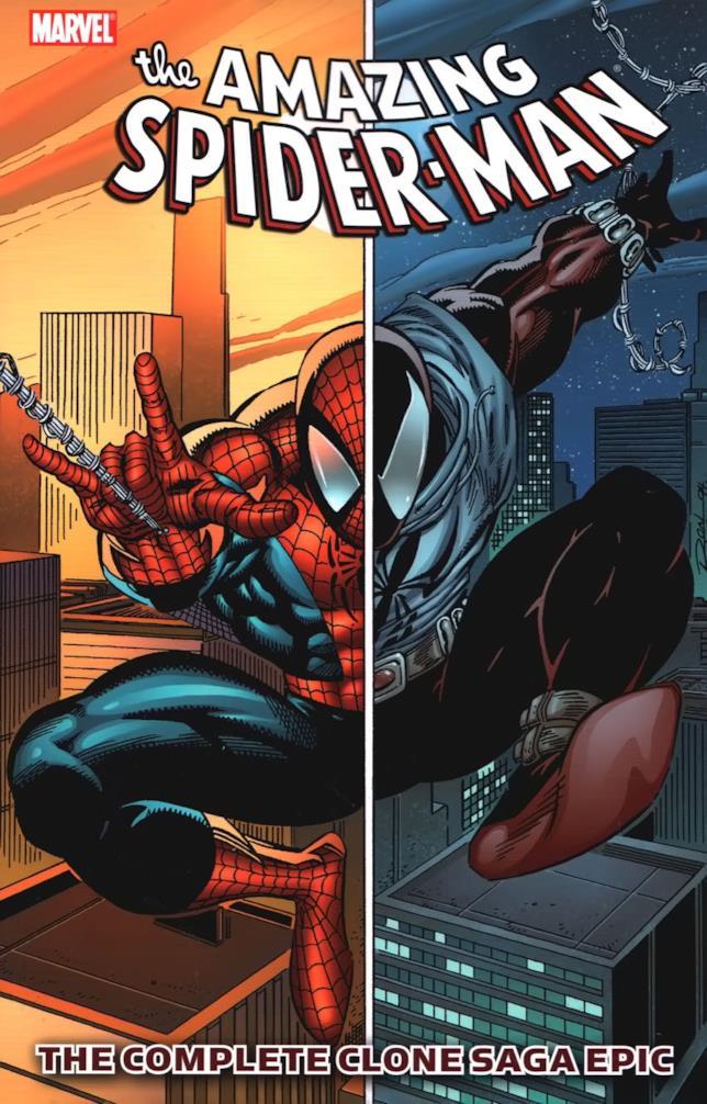 Immagine del volume con l'intera Saga del Clone di Amazing Spider-Man
