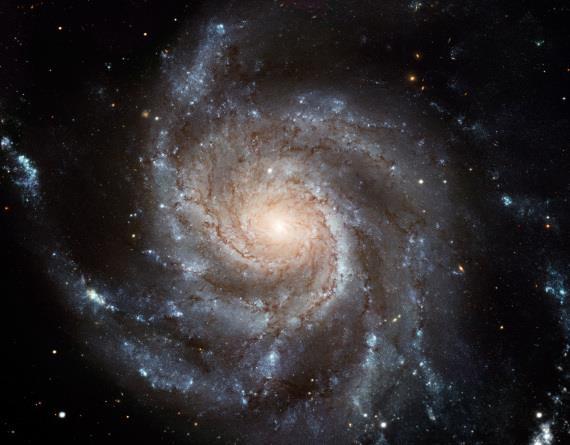 Un'immagine di una galassia a spirale