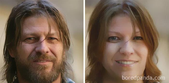 Da uomo a donna: la trasformazione di Sean Bean