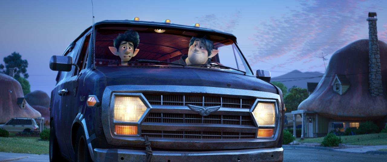 I due fratelli nel van