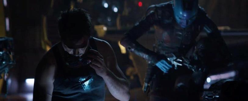 Tony Stark e Nebula a lavoro nello spot di Avengers: Endgame