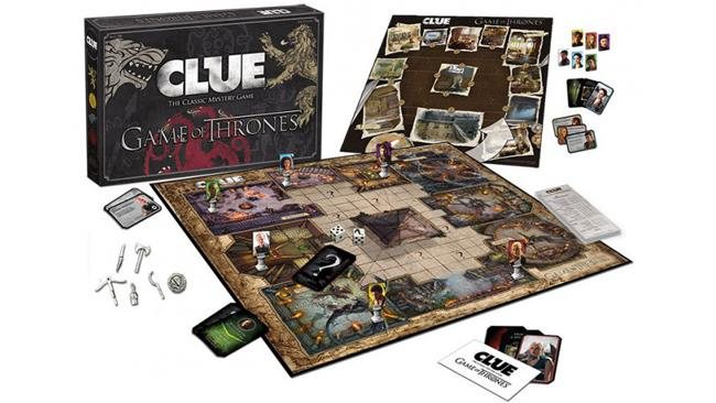 Il Cluedo ispirato a Game of Thrones