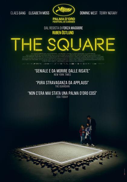 Il poster italiano di The Square