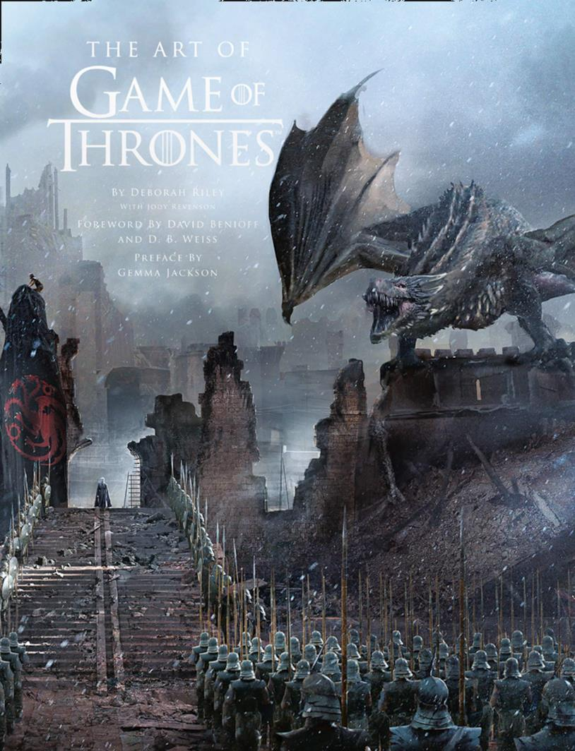 Il libro The Art of Game of Thrones
