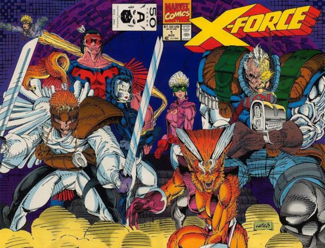 La cover di X-Force 0