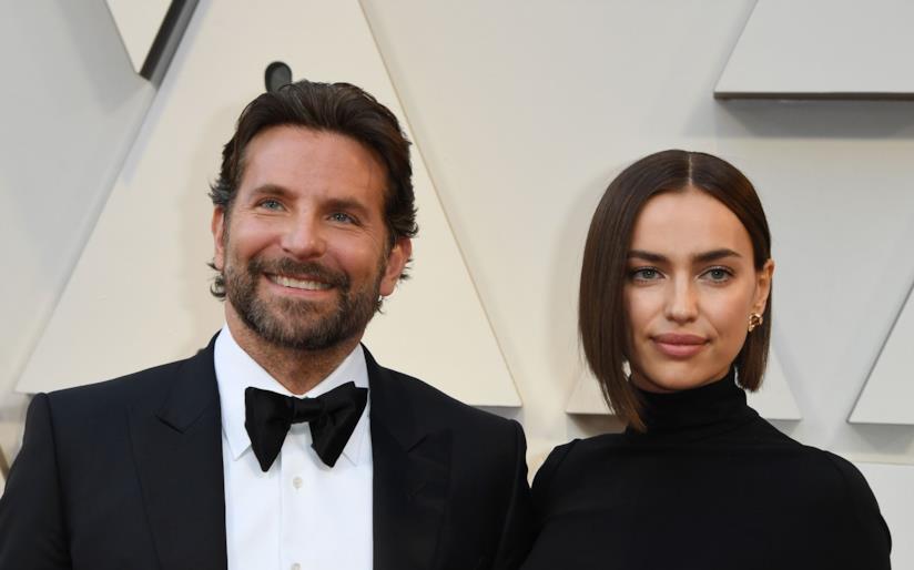 Bradley Cooper e Irina Shayk in primo piano