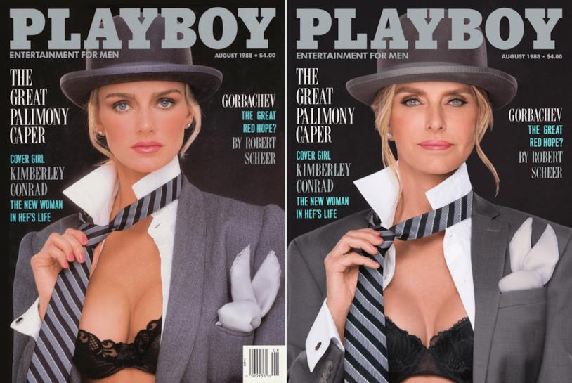 Kimberly Conrad Hefner in posa per playboy