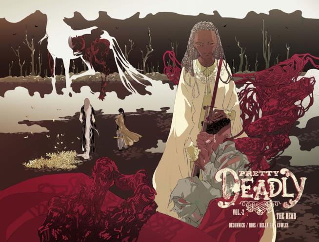 Sarah e Cyrus sulla cover del secondo volume di Pretty Deadly