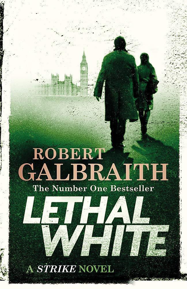 Copertina di Lethal White, il quarto volume