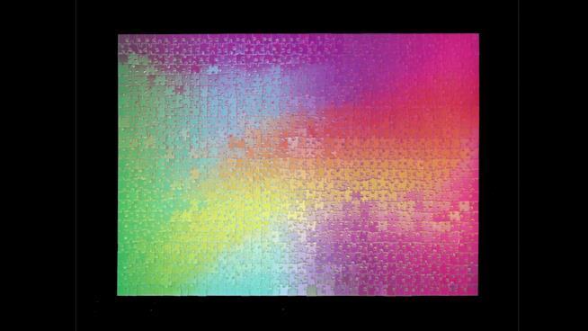1000 Changing Colours, il puzzle che cambia colore