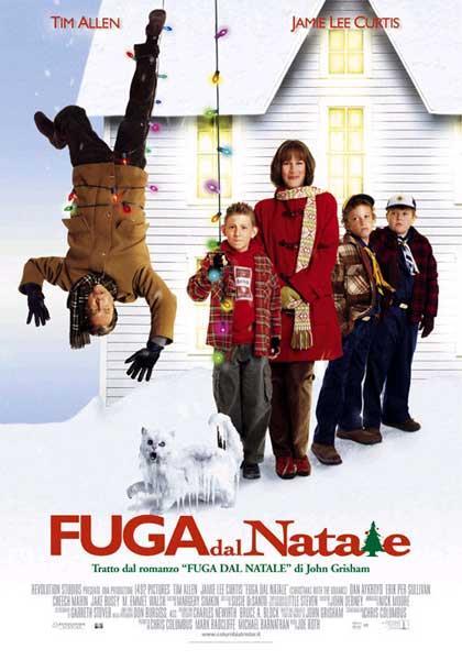Fuga dal Natale, locandina del film