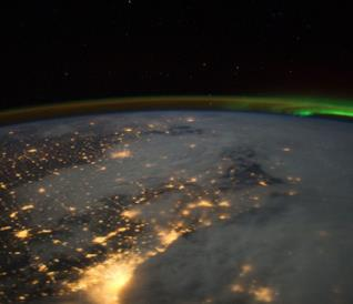 Una ripresa dello strato d'ozono terrestre effettuata dalla NASA