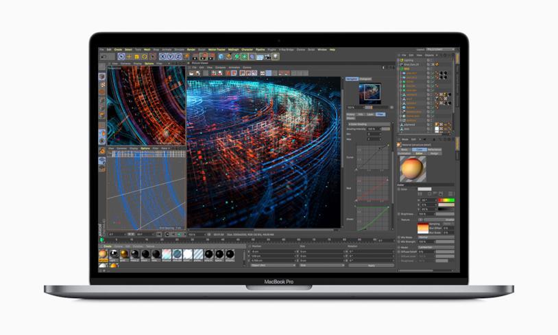 Immagine stampa del nuovo MacBook Pro di Apple