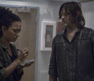 Connie e Daryl in The Walking Dead