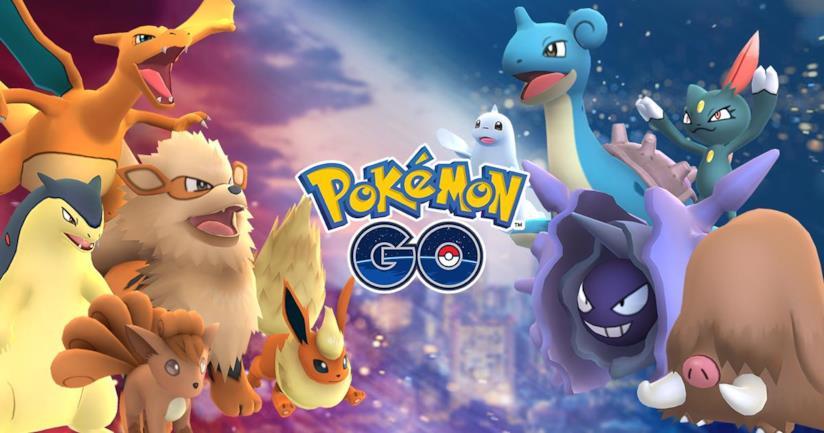 La cover ufficiale dell'evento Solstizio di Pokémon GO