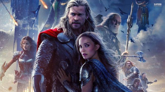 Il Poster di Thor The Dark World