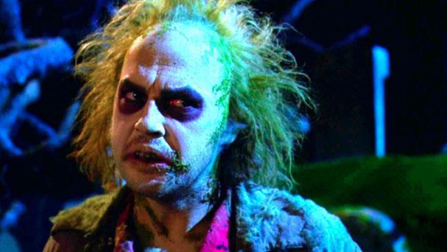 Michael Keaton nel ruolo di Beetlejuice
