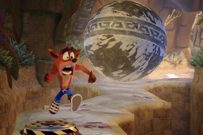 La grafica di Crash Bandicoot N.Sane Trilogy