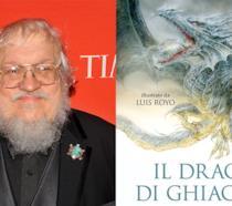 George R.R. Martin e la cover di Il Drago di Ghiaccio