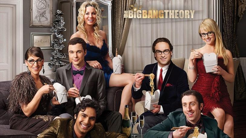 Scatto del cast di The Big Bang Theory