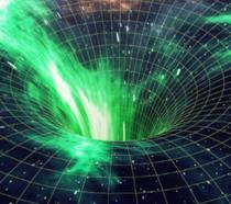 Raffigurazione del buco nero