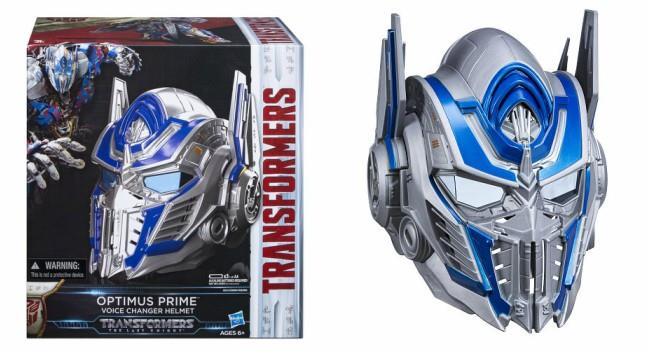 L'elmo di Optimus Prime targato Hasbro