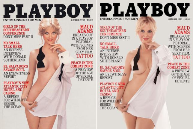 Cathy St. George in posa per playboy