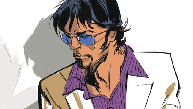 John Doe sulla copertina del primo volume