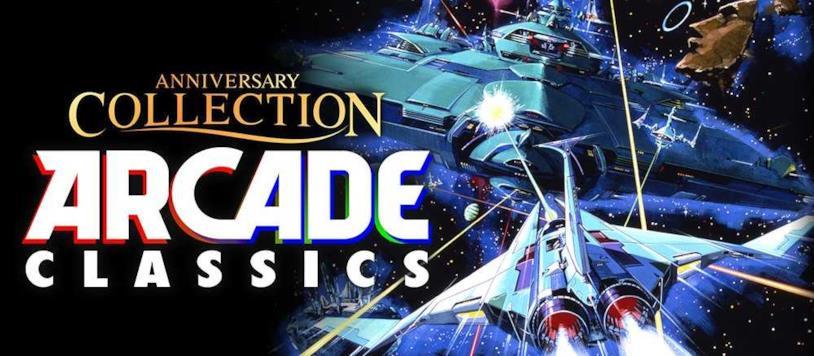 L'artwork promozionale di Konami Arcade Classics