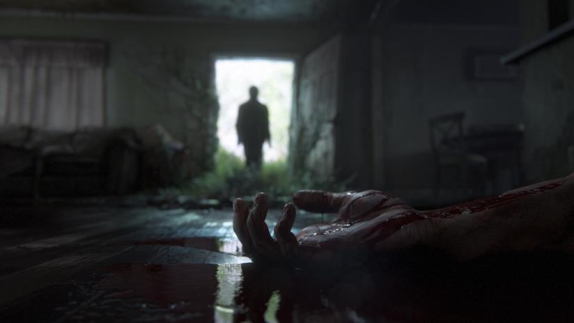 Una mano insanguinata dal primo trailer di The Last of Us Part II