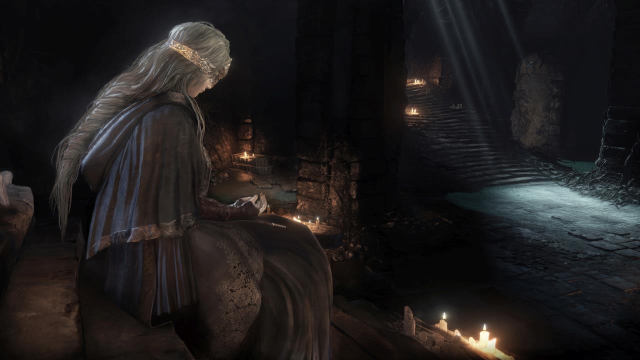 La principessa del terzo Dark Souls