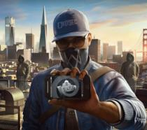 Marcus Holloway e il suo fedele smartphone in un artwork di Watch Dogs 2