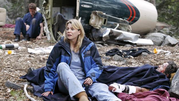 Meredith Grey dopo l'incidente aereo